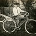 Lewis Metzler and His Bicycle, Williamsport, Pa., June 1921