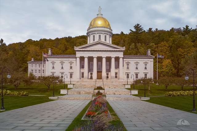 Vermont State House - Montpelier, USA