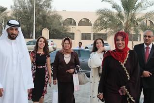 Visite de Moza Ghobash