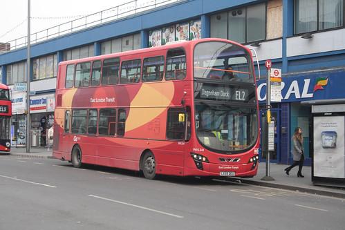 Go-Ahead London WVL341 LX59DEU