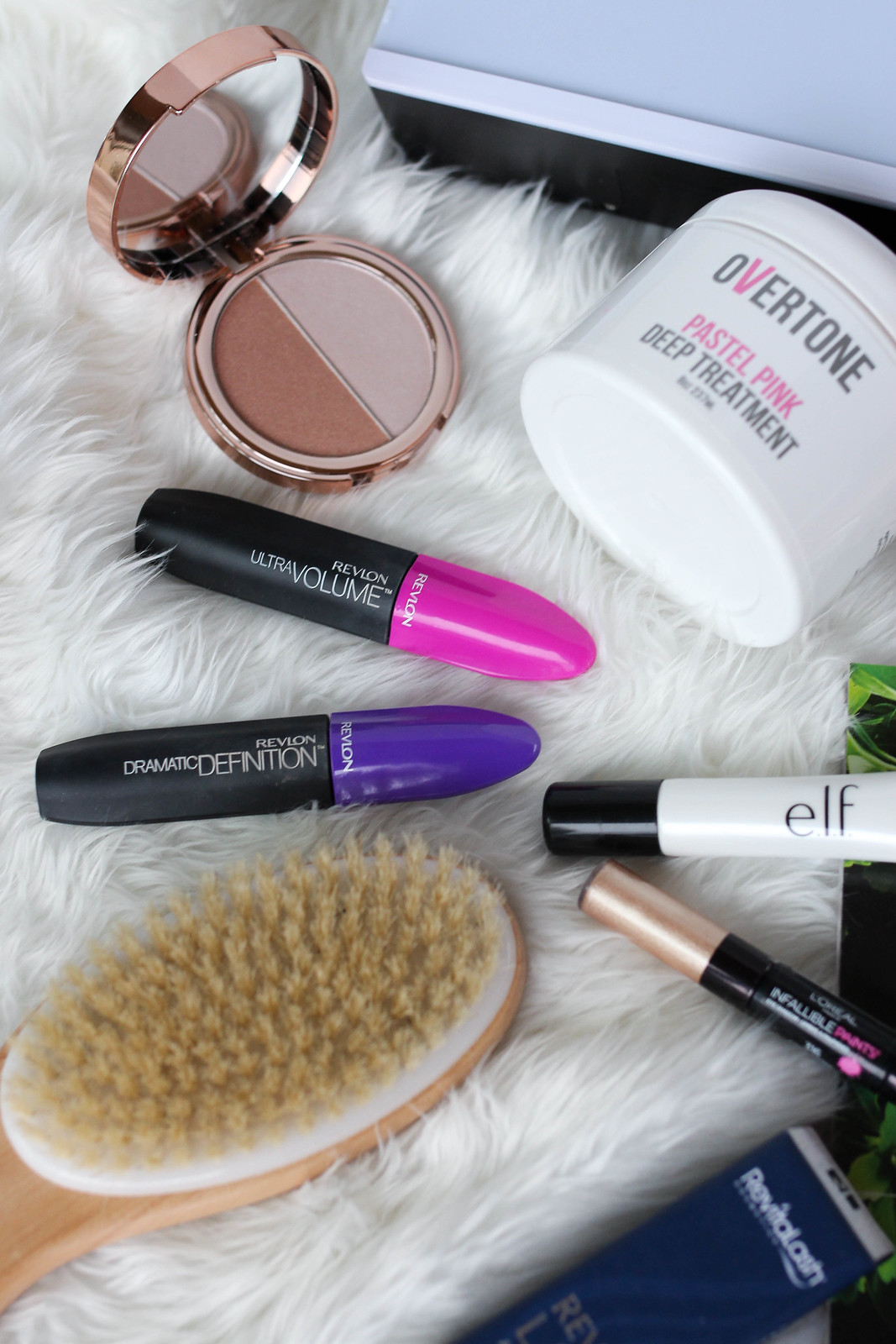 elf cosmetics Heart Defensor Highlighter Palette Revlon Ultra Volume Mascara Revlon Dramatic Definition Mascara Review