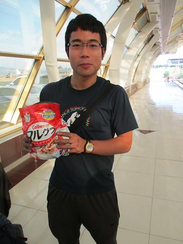 フルグラを個人輸入している日本人の方と遭遇。
