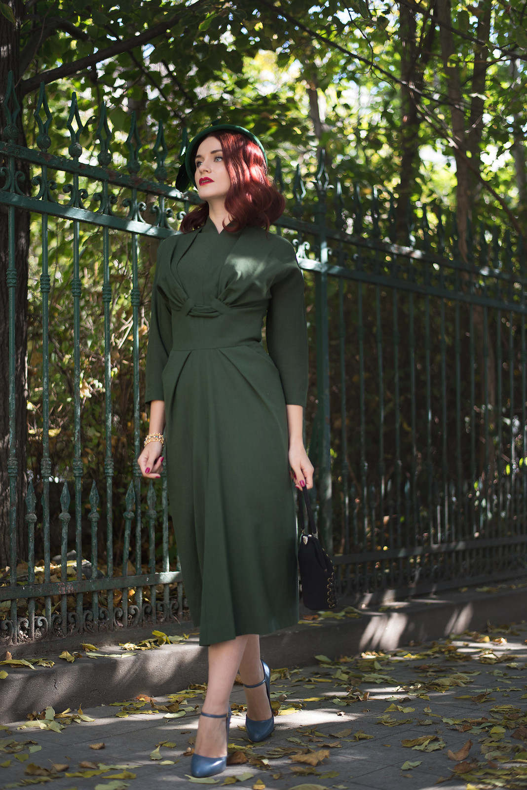 military green dress5