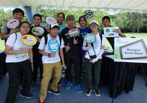 Restore Ubin Mangroves (R.U.M.) Initiative at NParks Festival