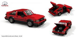 Toyota Corolla Levin AE86 Liftback