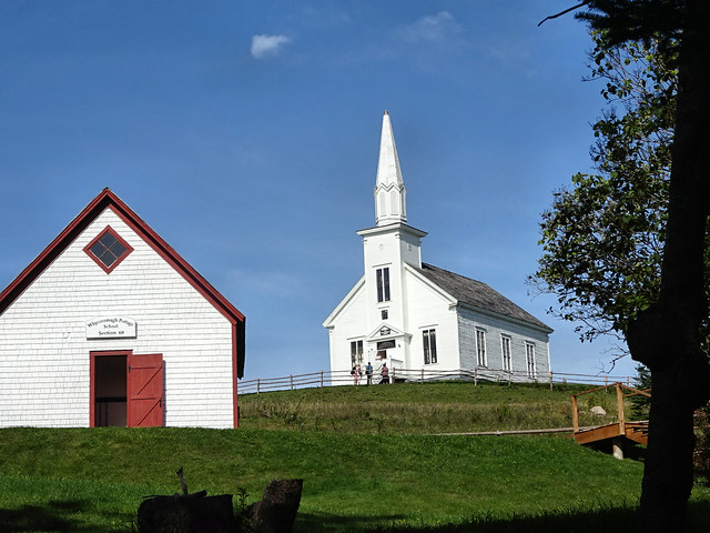Church and school view 1