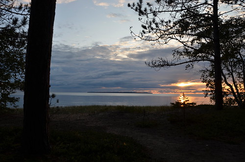 Lake Superior Park sunset