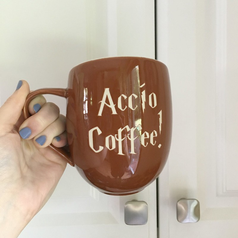 harry potter mug accio coffee