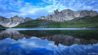 Reflet - Vallée de la Clarée - Hautes Alpes - France