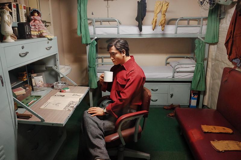 名古屋港南極観測船ふじ船内観測員寝室