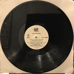 COLOR ME BAD:I WANNA SEX YOU UP(RECORD SIDE-A)