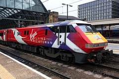 BR Class 91 91101 'Flying Scotsman' VTEC Kings Cross -0678