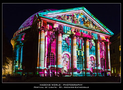 Festival of Lights - St. Hedwigs-Kathedrale