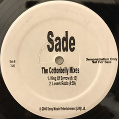 SADE:THE COTTONBELLY MIXES(LABEL SIDE-B)