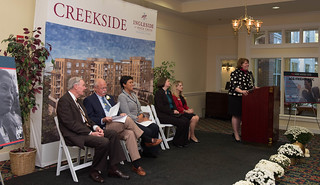 October 17, 2017 Groundbreaking at Creekside Senior Living Facility