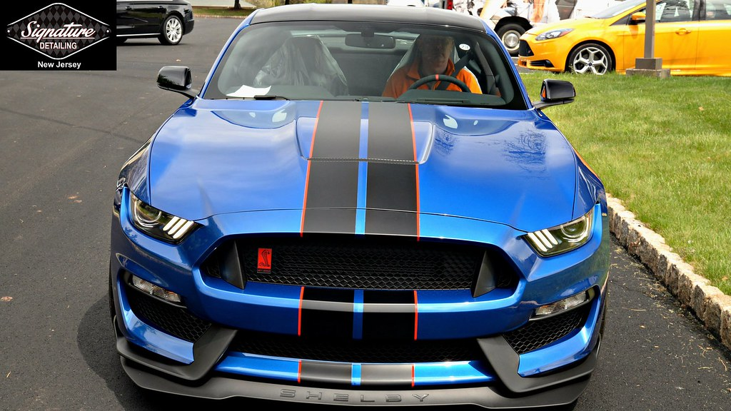 Signature Detailing New Jersey - Mustang GT350R Full Front End Xpel Ultimate Paint Protection Film
