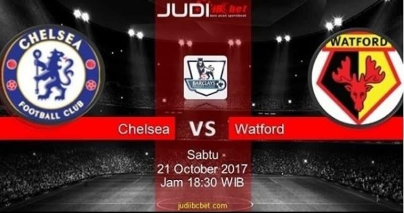 Prediksi Bola Chelsea vs Watford, hari Sabtu, 21 October 2017 – Liga Inggris