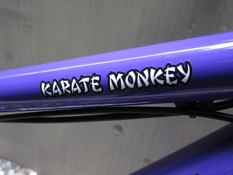 SURLY Karate Monkey PPL Dropper Logo 2