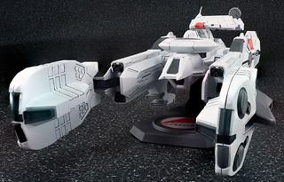 Aquamarine 《機動戰艦》撫子級一號艦『撫子號』Y單位裝備型版本!機動戦艦ナデシコ ナデシコ級一番艦「ナデシコ」Yユニット装備型