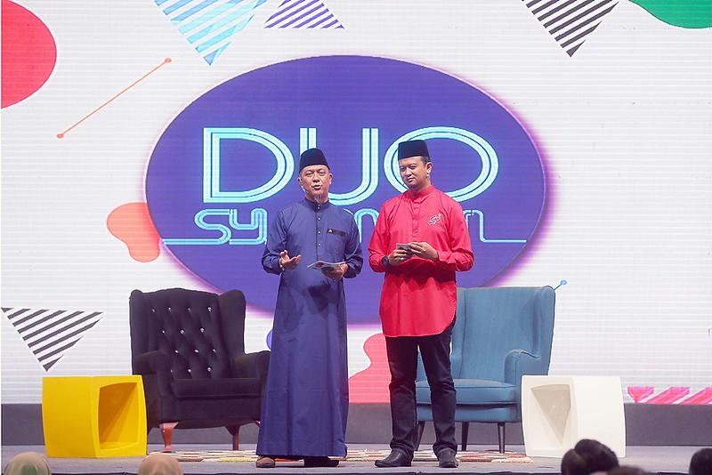 Syamsul Debat dan Syamsul Ghau Ghau dalam rancangan Duo Syamsul