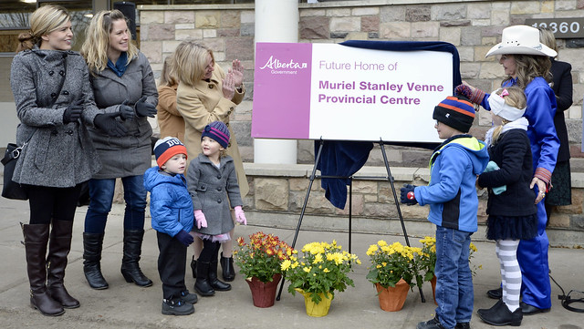 Building named for activist Muriel Stanley Venne