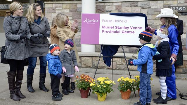 Building named for activist Muriel Stanley Venne