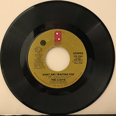 THE O'JAYS:WHAT AM I WAITING FOR(RECORD SIDE-A)