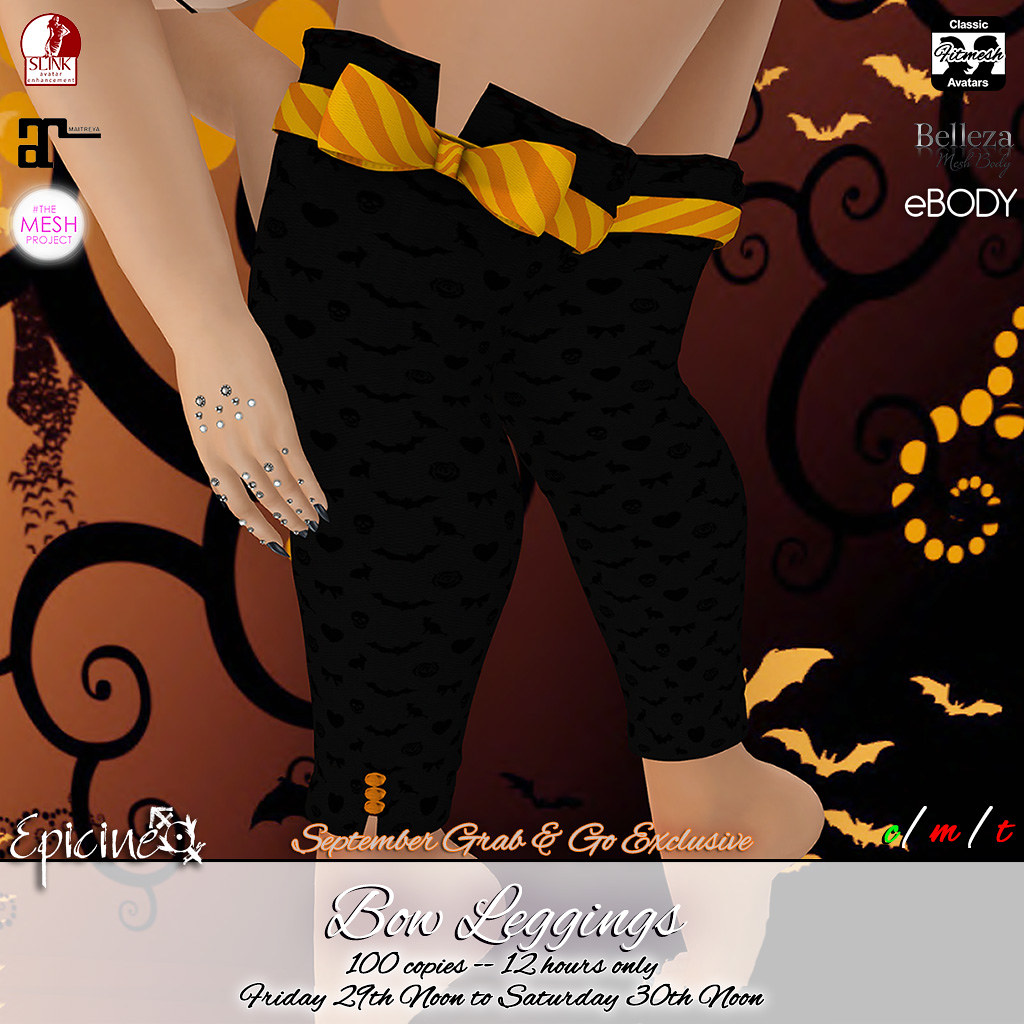 Epicine - Bow Leggings - Grab & Go Exclusive 09-29 - TeleportHub.com Live!