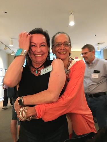me and Denise Oliver Velez
