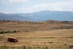 Wschodnia Albania, okolice jeziora Ochrydzkiego