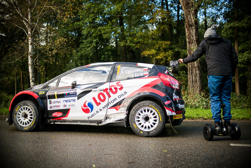Kajetanowicz Kajetan, Lotos Rally Team, Ford Fiesta R5 and Gryazin Nikolay, Sports Racing Technologies, Skoda Fabia R5 ERC Junior U28 ambiance portrait  during the 2017 European Rally Championship ERC Liepaja rally,  from october 6 to 8, at Liepaja, Lettonie - Photo Thomas Fenetre / DPPI