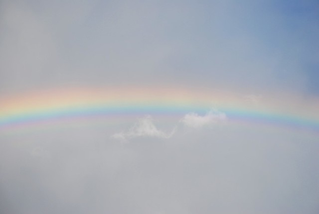 . Cloud Meets Rainbow .