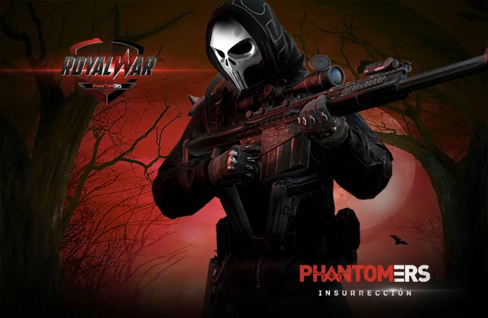 Phantomers Insurrección | Inicia la segunda edición de The Royal War