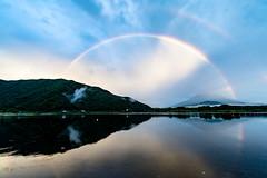Fuji and Rainbow
