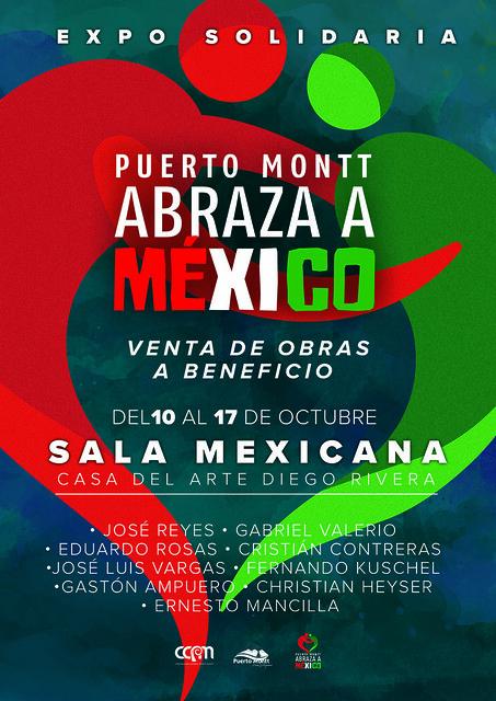 """Expo: """"Puerto Montt abraza a México"""""""