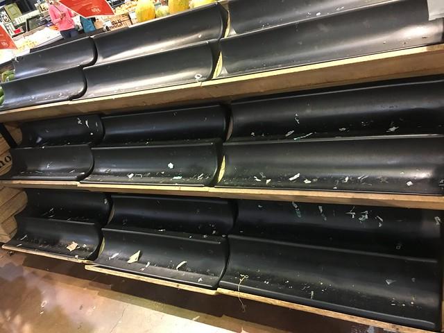 Whole Foods Empty Shelves