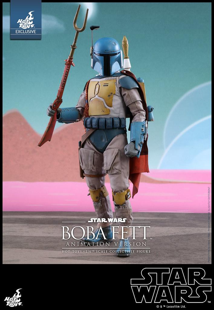 Hot Toys – TMS006 – 星際大戰【賞金獵人:波巴.費特動畫版】Boba Fett Animation Ver. 1/6 比例人偶作品