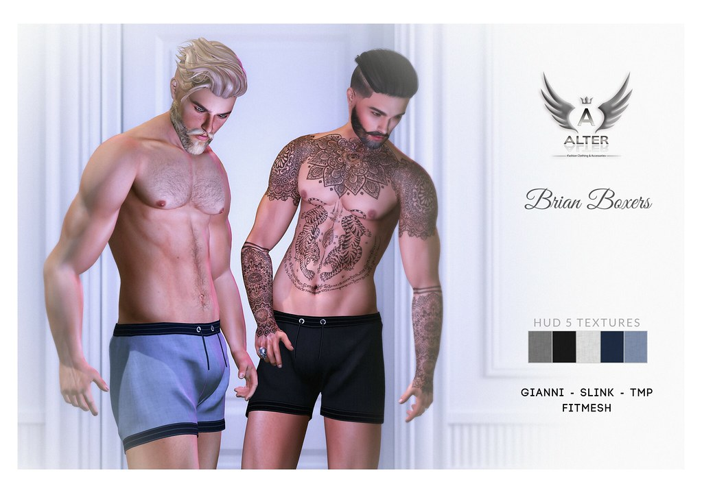::ALTER:: Brian – Boxers / Gianni – SLink – TMP – Fitmesh