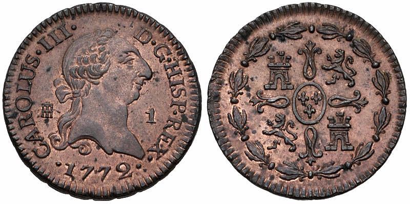 8 Maravedis Isabel II