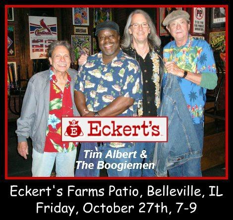 Tim Albert & The Boogiemen 10-27-17