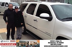 #HappyBirthday to Maria from Eric Dotson at McKinney Buick GMC!