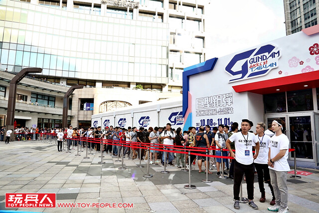 鋼彈迷的新聖地!台灣史上規模最大展覽【GUNDAM docks at TAIWAN】現場速報