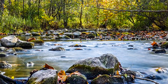 Titled Flowing River