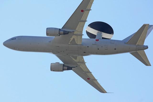 警戒航空隊 第602飛行隊 E-767 74-3503 IMG_3891_2