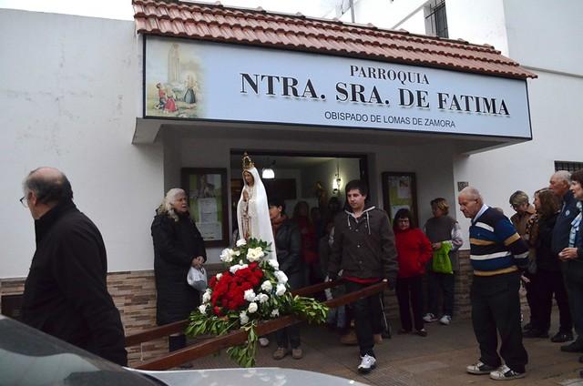 La fiesta de la Virgen de Fátima en el cierre jubilar