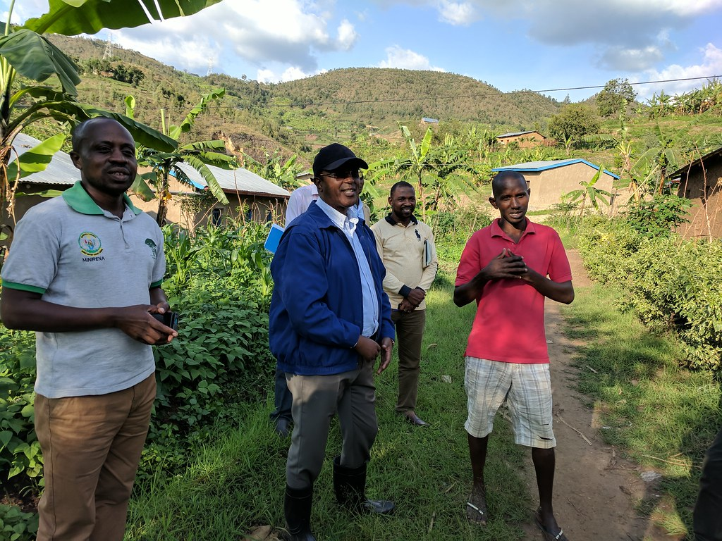 Minister Biruta visits Rwanda Green Fund Investments