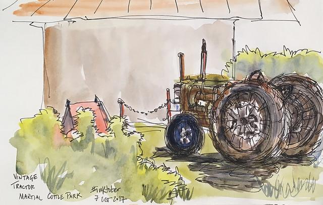 tractor martial cottle park