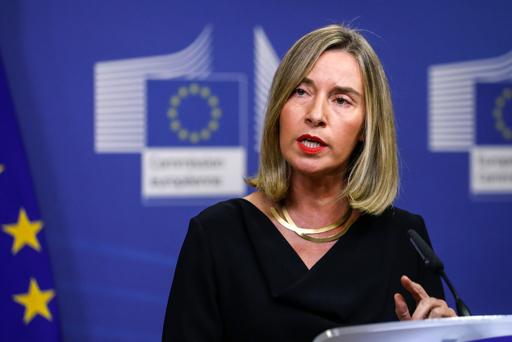 Mogherini's press statement on the latest dev…