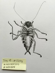 INKtober 2017 -  Day 18 - FILTHY