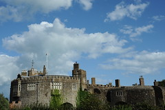Blue skies over Walmer castle